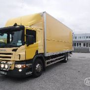 SCANIA P310LB MNB (export only) Box (tail lift) - 06 closed box truck for sale by auction