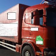 SCANIA R114 Analog Taco closed box truck