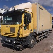 IVECO 150E24 (Export only) closed box truck for sale by auction