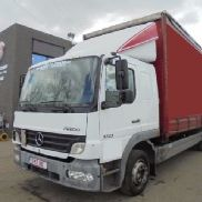 MERCEDES-BENZ ATEGO 1223 airco manual truck curtainsider