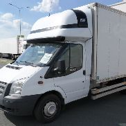 FORD TRANSIT 350EF closed box truck