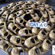 CATERPILLAR Kette /( Drehbuchsen) und Bodenplatten track chain for CATERPILLAR D6 bulldozer