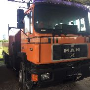 MAN 27-342 dump truck for sale by auction