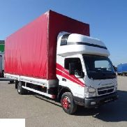 MITSUBISHI CANTER-FUSO truck curtainsider for parts