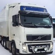 VOLVO FH540 MANUAL closed box truck