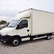 IVECO Daily 35C15 KOFFER 8 PALETTEN / LBW/ klima closed box truck