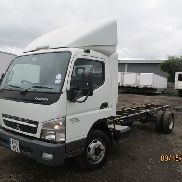 MITSUBISHI FUSO CANTER 7C18 truck curtainsider for sale by auction