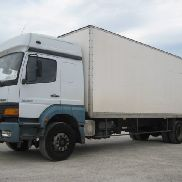 MERCEDES-BENZ Atego 1828 closed box truck