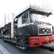 MAN 18-290 car transporter