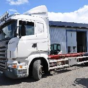 SCANIA R420 container chassis