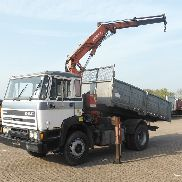 DAF 1900 TURBO INTERCOOLING dump truck