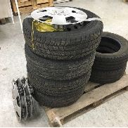 Opel Vivaro light-truck tyre for sale by auction