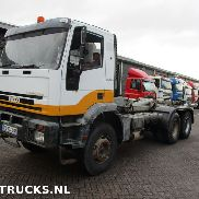 IVECO EUROTRAKKER manual steel chassis truck