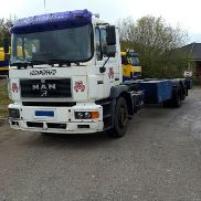 MAN 25.264 Silent Gestell 12 Meter chassis truck