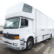 MERCEDES-BENZ ATEGO 1828 closed box truck for sale by auction