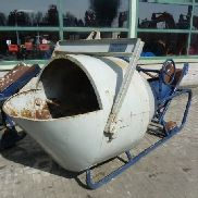 Beco KUBEL 1000 / 1500 Ltr concrete mixer drum