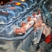 Engine for SCANIA DC1214 HPI tractor unit