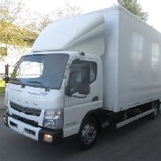 MITSUBISHI Fuso Canter 7C15 Koffer LBW closed box truck