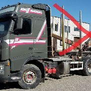 VOLVO FH 520 6x4 chassis, full steel chassis truck