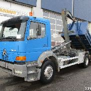 MERCEDES-BENZ Atego 1828 Manual Steel dump truck