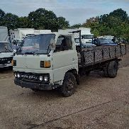 MITSUBISHI Canter left hand drive FE110 2.7 diesel 6 tyres flatbed truck