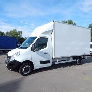 RENAULT MASTER 2.3 DCi KOFFER KLIMA closed box truck