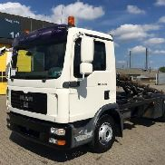 MAN TGL 12.240 BL cable system truck