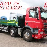 DAF CF 85.340 - MANUAL - 12 REIFEN / 12 ROUES - TOP KONDITION Flachbettwagen