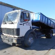 MERCEDES-BENZ SK 1722 (BIG AXLE / STEEL SUSP / V6) dump truck