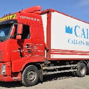 VOLVO FH12 480 closed box truck