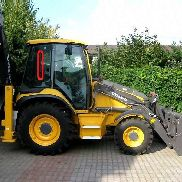 VOLVO zadnee pravoe windowpane for VOLVO BL61 BL71 backhoe loader