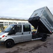 FORD Transit FT 430 TDE DoKa Kipper Muldenkipper