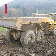 VOLVO chassis for VOLVO A25, A30, A35 special dumper