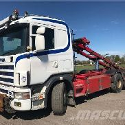 SCANIA R144G6X2*4B cable system truck