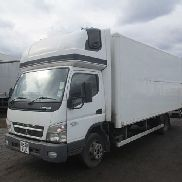 Mitsubishi Fuso CANTER 180 closed box truck for sale by auction
