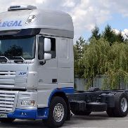 DAF XF 105.510 Fahrgestell 7,25 m Top Zustand!