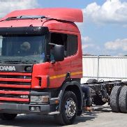 Scania 124 420 * Fahrgestell 6,00 m * Top Zustand!