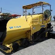 Demag DF 115P - wheeled paver used