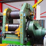 Boldrini 3 roll plate bender 600 x 100 mm