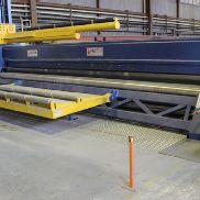 Faccin CNC 4 roll plate bender 8000 x 10 mm