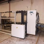 STRETCH FILM WRAPPING MACHINE CMB MOD COMPACK-150 PLUS