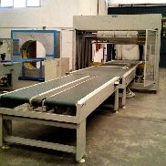 RETRACTABLE WRAPPING MACHINE ERREGUI MOD COMPACT 250 4-R