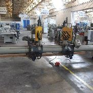 DOUBLE MITRE SAW WITH BORING MACHINE BERLE TB 2000