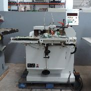 Punching machine with saw and Pade top