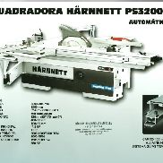 Sliding table saw Harnnett PS3200 Automatic Pro (New)