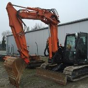 Hitachi ZX85 USB-5A mini excavator + SW