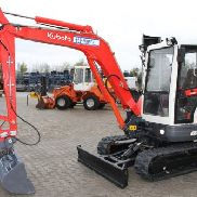 Kubota KX 121-3a mini excavators + SW + Hydraulic. GS + new chains !!!
