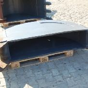 Bucket - 400mm - fixed mounting - used - R1453