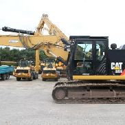 CAT 323 E - hydr. Adjustable spreader - compl. Hydraulic - Climate - EPA