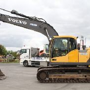 Volvo EC220DL + air conditioning + compl. Hydraulics 2013